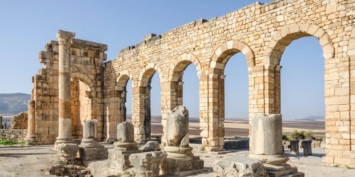 ruines-de-volubilis-au-maroc